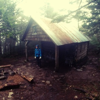 Shelter on Roan Mt.